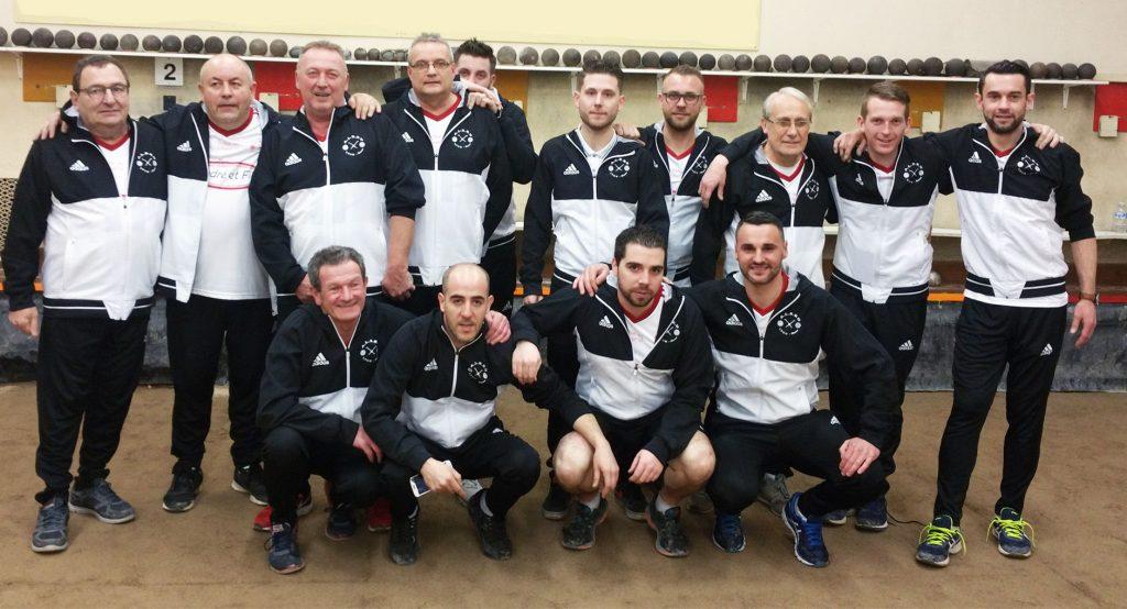 Quart de finale en championnat de France des clubs sportifs