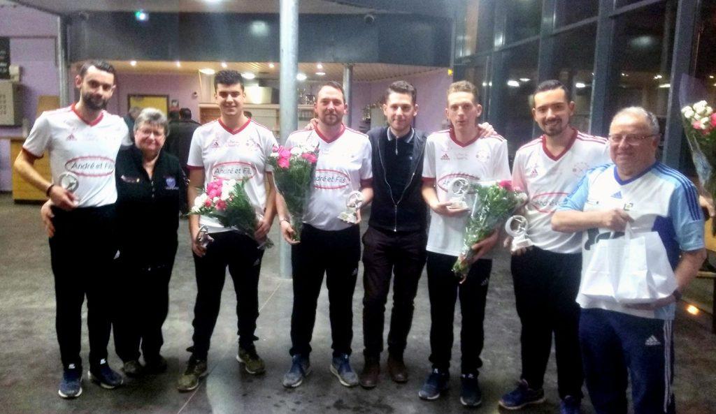 Victoire au Grand Prix M2 de Fontaine