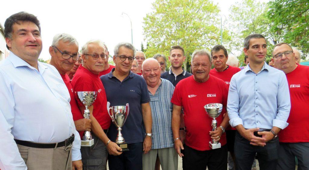 Victoire au trophée des clos de Lyon